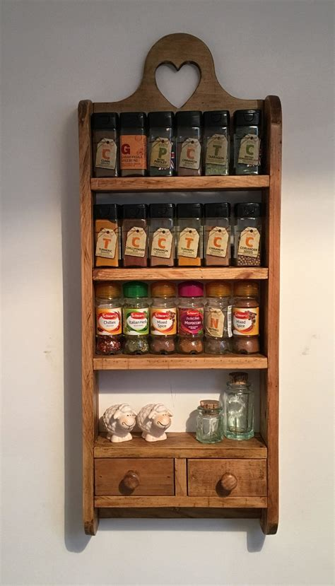 drawer pallet spice rack pallet spice rack wooden