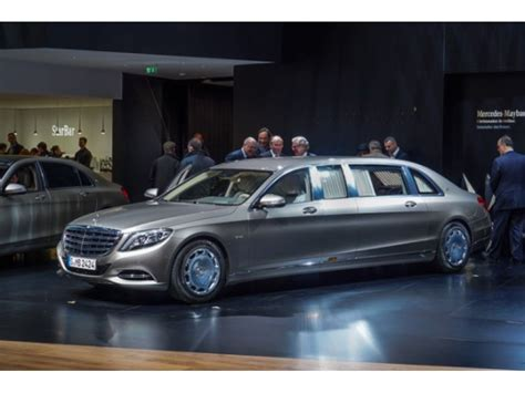 New $1m Armored Mercedes-maybach S600 Arrives