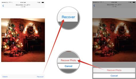 how to get deleted photos back on iphone ios help i accidentally deleted a photo my iphone