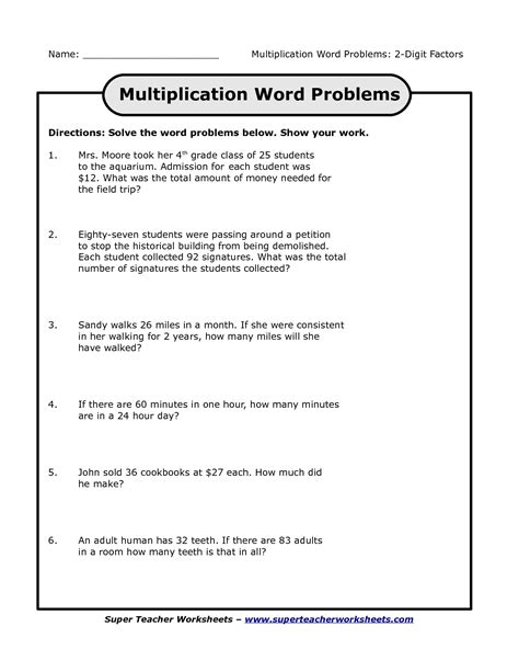 images  multiplication  division word