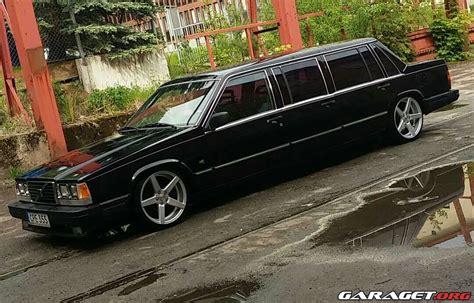 volvo  limousine  garaget