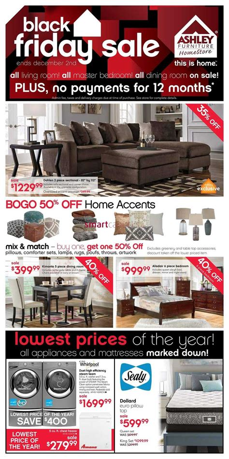 ashley furniture home store west black friday flyer