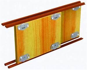 Rail Placard Coulissant : porte de placard coulissant pas cher 3 porte ~ Premium-room.com Idées de Décoration