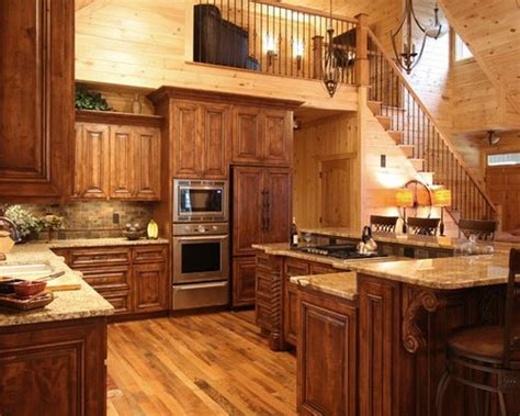 Cabinets Knotty Pine by Knotty Pine Kitchen Cabinets Houzz