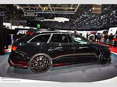 ABT Brings More Power in Geneva with New Audi RS6R [Live