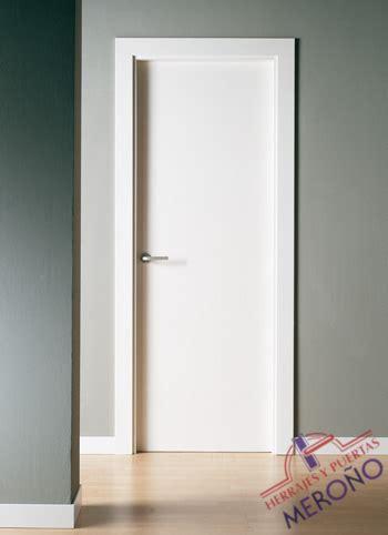 puertas lacadas blancas de interiores mod