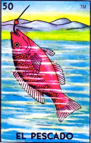 Coolest Deck Of Cards by Loteria Mexican Fish El Pescado Loteria Mexicana