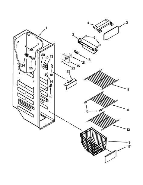 Kitchenaid Mixer Parts Edmonton by Kitchen Aid Refrigerator Parts Wow