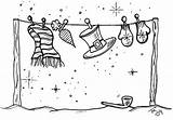 Disney Coloring Christmas Pages Clothesline Card Cruise Clipart Drawing Dream sketch template