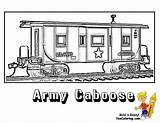 Coloring Train Pages Caboose Army Trains Yescoloring Ironhorse Printable Colouring Sheets Military Boys Adult Tank Books sketch template