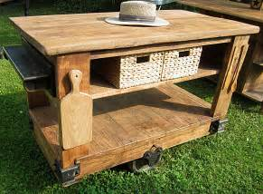 rustic kitchen islands pics photos rustic kitchen island on wheels