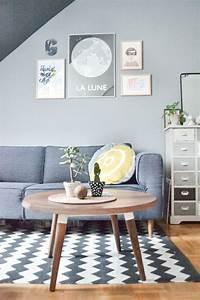 Tapis Scandinave Gris : le tapis de salon dans quelques mots et beaucoup de photos ~ Teatrodelosmanantiales.com Idées de Décoration