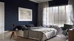 Ideen Streichen Schlafzimmer : w nde streichen ideen in dunklen schattierungen ~ Markanthonyermac.com Haus und Dekorationen