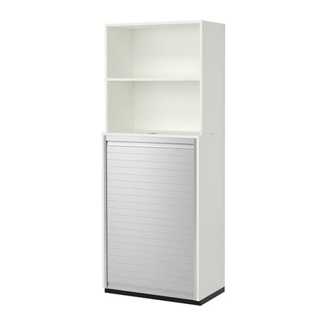 roll top desk in ikea catalogue 2011 galant storage combination with roll front white ikea