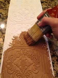 paintable wallpaper borders embossed