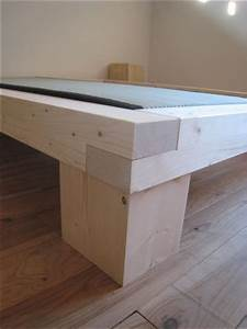 Pied De Lit En Bois : pieds de lit en bois brut ~ Premium-room.com Idées de Décoration