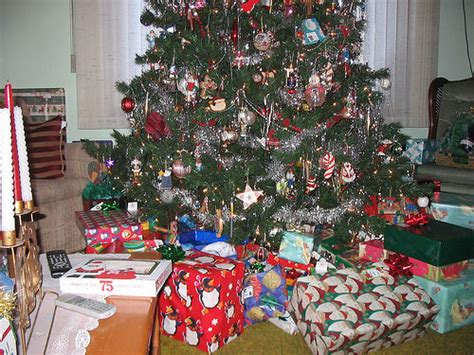 lots of presents under the tree there were more presents