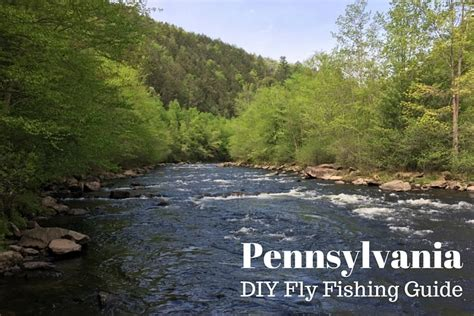 Pa Fish And Boat County Guide by Fly Fishing Pa Localbrush Info