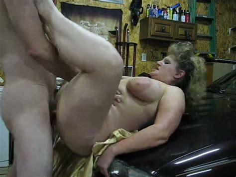 I Laid Down Bbw Mom On Top Of The Hood And Fucked Her Hard