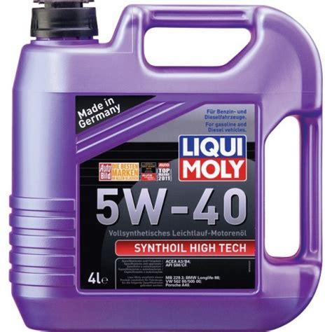 liqui moly 5w40 need expert opinion on liqui moly 5w40 mechanical