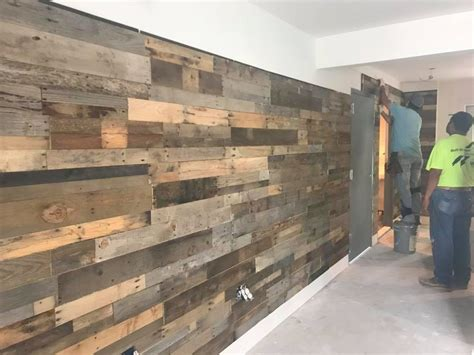 reclaimed wood paneling pre fab pallet wood wall panels sustainable lumber company 1746
