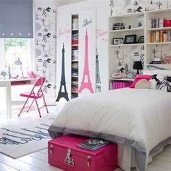 paris theme girl s bedroom teenage girls bedroom ideas