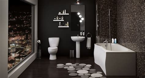 Buy P Shaped Shower Bath Bathroom Suite - Bathshop321