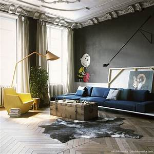 Black living rooms ideas inspiration for Living room furniture visualizer