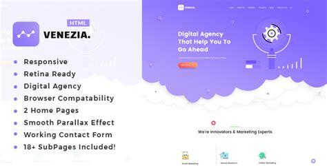 Digital Agency Seo Marketing Html Template Nulled by Venezia Seo Digital Agency Html5 Template Download