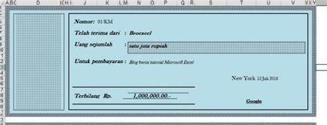 Contoh Kwitansi Pembayaran Excel by Template Kwitansi Excel Calendar Monthly Printable