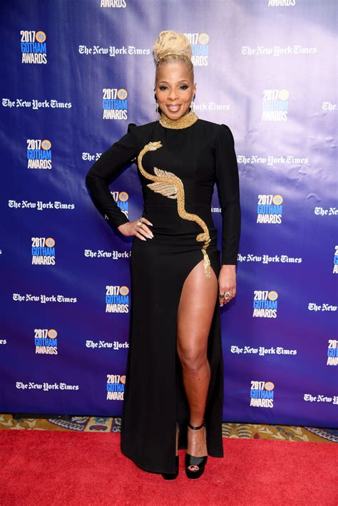 mary  blige embroidered dress newest  stylebistro