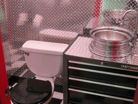 man cave bathroom sink tool box sink old garages pinterest diamonds