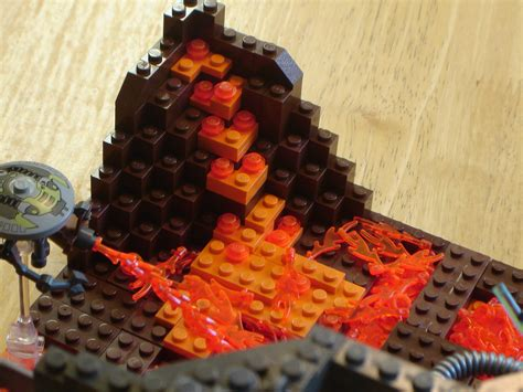 Mustafar Diorama MOC   LEGO Star Wars   Eurobricks Forums