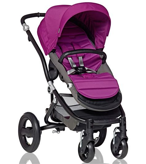 britax affinity complete stroller black cool berry