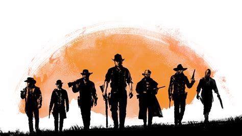 Wallpaper Red Dead Redemption 2, Playstation 4, Xbox One