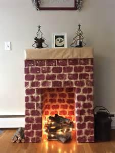 kitchen fireplace ideas best 25 cardboard fireplace ideas only on