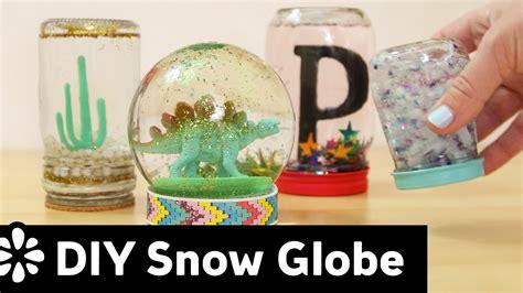 diy snow globe diy snow globe sea lemon