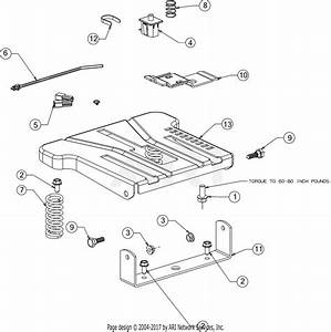 Mtd 13w878st031 Lt 4600  2016  Parts Diagram For Seat