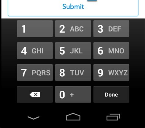 android edittext inputtype android edittext view with keyboard number only stack