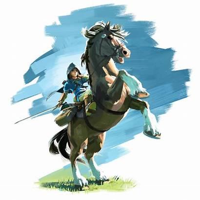 Breath Wild Render Zelda Legend