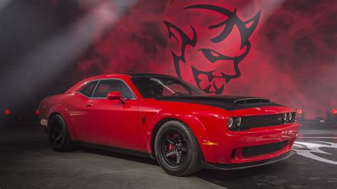 Dodge Challenger SRT Demon Full HD Fondo de Pantalla and