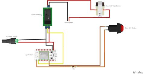 house wiring diagram doorbell 2 chime has power inside a