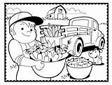 Pages Coloring Country Living Printable Farm Adults Landscape Template Templates Getcolorings Popular sketch template