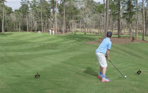 Video: Tiger Woods blown away as boy of eleven hits hole ...