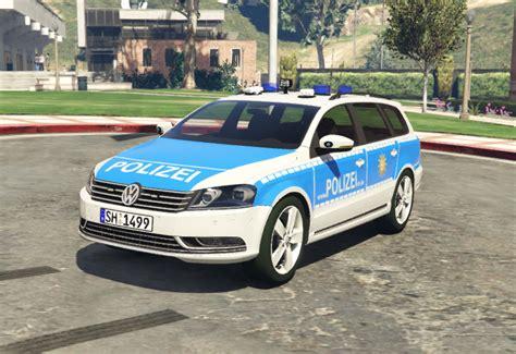 German Police Skin For Achillesdk's Passat (semi-realistic