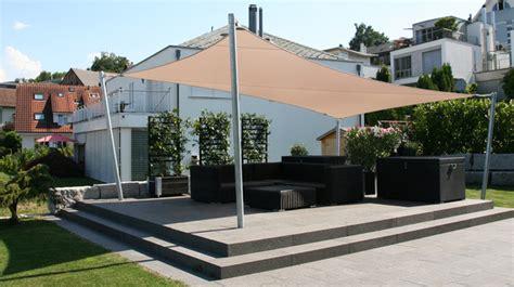 Sonnensegel Terrasse Rechteckig rechteckige sonnensegel in trapezform nach mass sitrag
