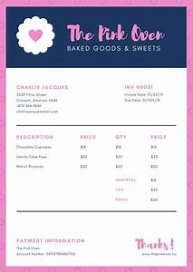 Template For Service Invoice Customize 38 Business Invoice Templates Online Canva