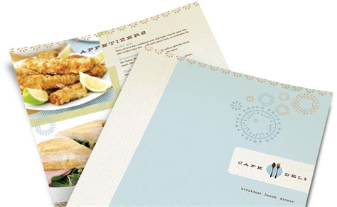 restaurant menu design easily customize templates