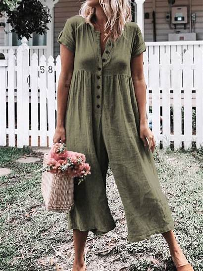 Romper Casual Sleeve Missfance Solid Short Rompers