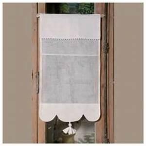 Rideau Brise Bise Lin Dentelle : brise bises petit rideau largeurs au choix pour votre maison ~ Teatrodelosmanantiales.com Idées de Décoration